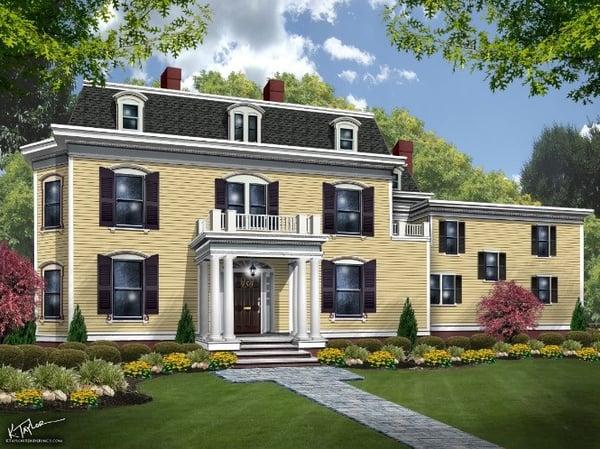 Grace's House Rendering